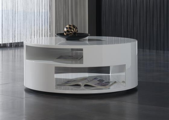 Mesa de centro redonda , mod: PHI COFFEE