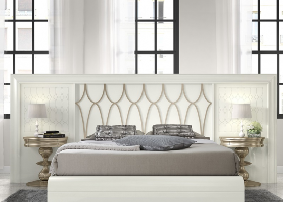Large lacquered headboard. Mod. GA1363C