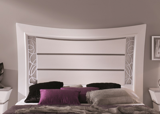 Lacquered headboard. Mod. LEIRE CROM