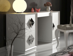 Lacquered  vanity table. Mod. 45319