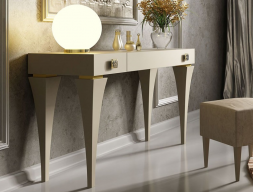 Lacquered vanity table. Mod. 45320