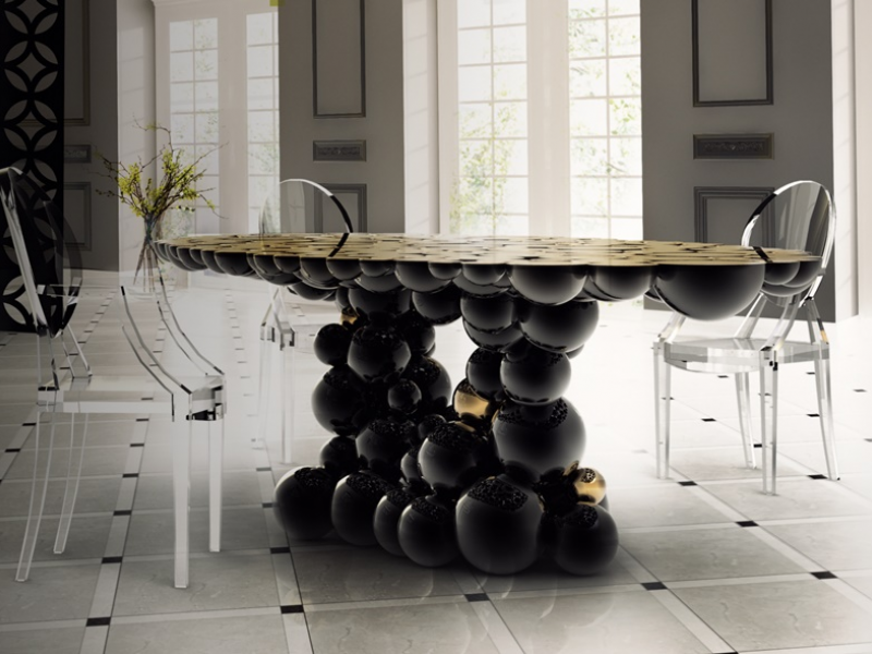 Dinning table, mod: NEWTON
