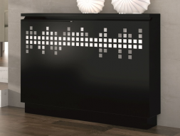 Lacquered radiator cover. Mod. PIXEEL-Z