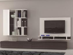 315 cm. wide modular composition. Mod. EGEA159