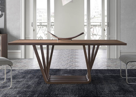 Dining table , mod: MILAN WALNUT