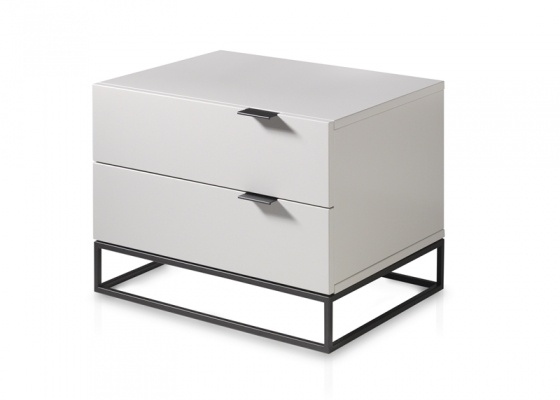 Bedside tables - set of 2 units. Mod. CARINA