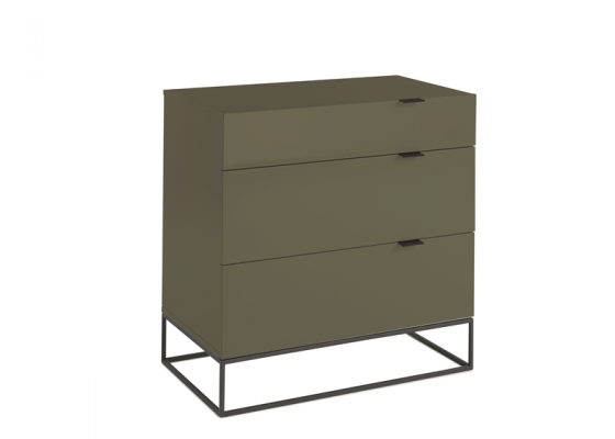 Lacquered chest of drawers . Mod. DALLAS-C