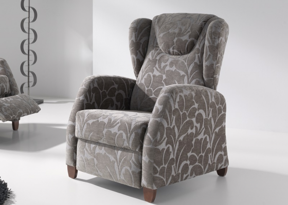 Upholstered armchair relax. Mod. KEVIN RELAX