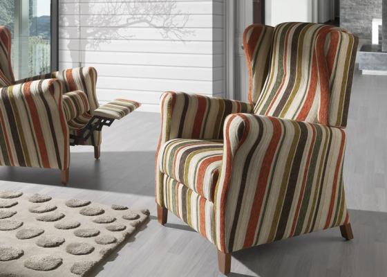 Upholstered  relax. Mod. ALBA RELAX