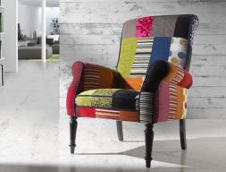 Armchair. Mod. PARIS VIVOS