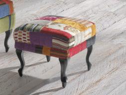 Upholstered pouff. Mod. POUFF TEIDE