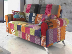 Sofa.Mod. COIMBRA PATCHWORK