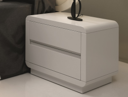 2 bedside tables with 2 drawers. Mod. SCARLETT