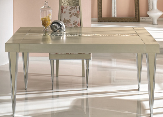 Extensible dining table. Mod. EUPHORIA 6470
