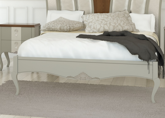 Bed frame. Mod. PERLATOO L2065