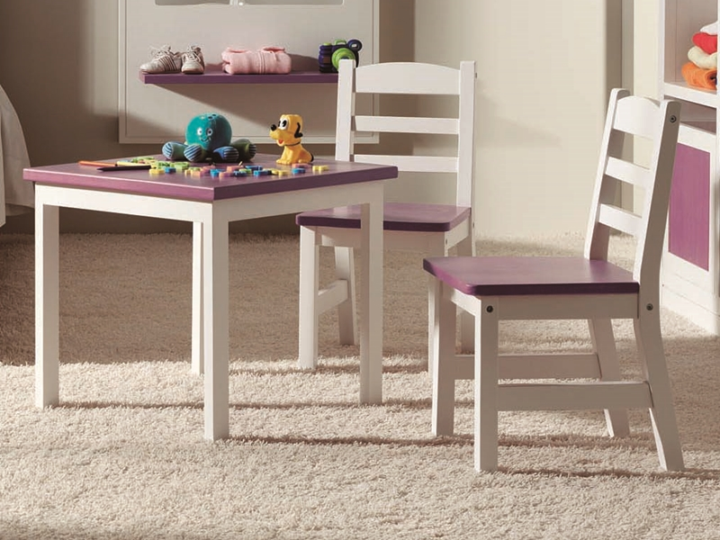 Child low table. Mod. MERLIN 8033
