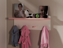 Child coat rack. Mod. MERLIN 8019