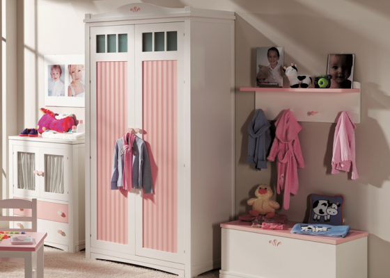 Child wardrobe. Mod. MERLIN 8000