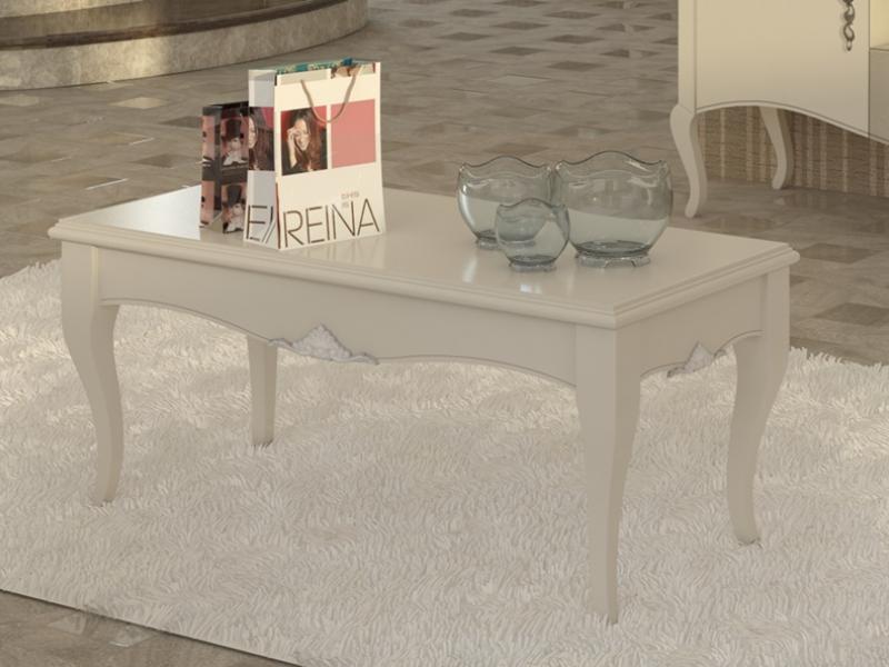 Rectangular low table. Mod. PERLATTO L1220