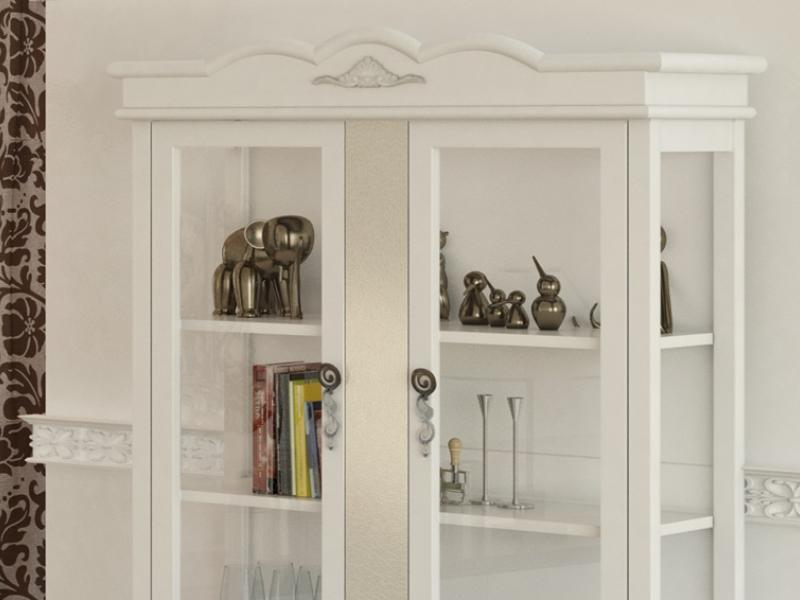 Glass cabinet . Mod. PERLATTO L1002
