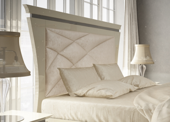 Upholstered headboard. Mod. IMPERIAL  73006-12