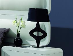 Bedside table lamp. Mod. DENNI