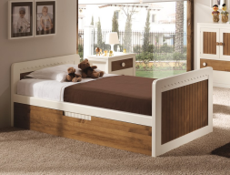 Child trundle bed. Mod. MERLIN 8203