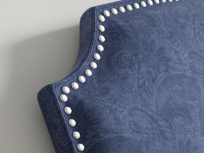 Upholstered headboard. Mod. NP182