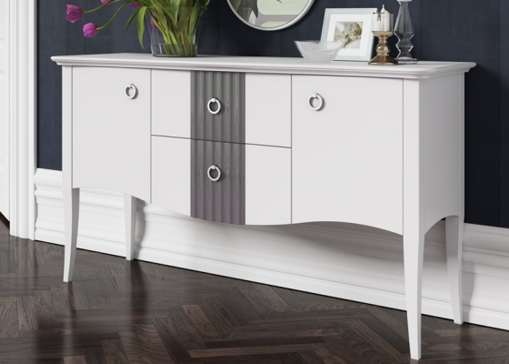 Lacquered sideboard. Mod. NP140