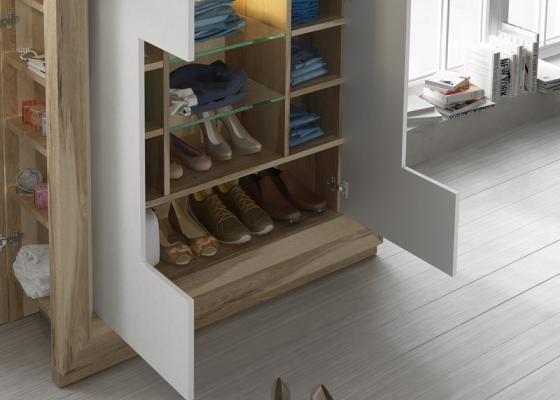 commode avec portes et clairage mod enzo48766. Black Bedroom Furniture Sets. Home Design Ideas