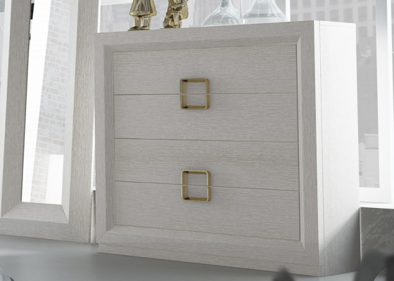 Chest of  4 drawers. Mod. ADUR
