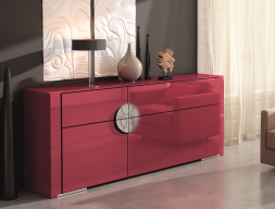 Lacquered sideboard. Mod. GAMMAGMG0102