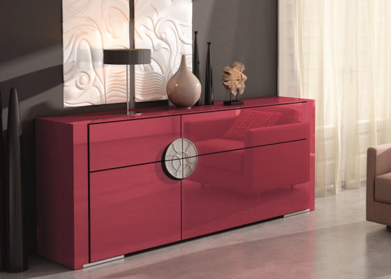 Lacquered sideboard. Mod. DAMA