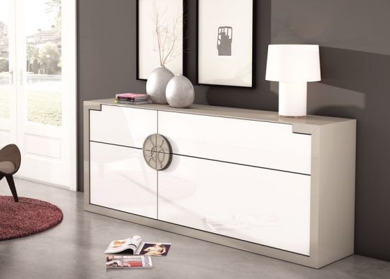 Lacquered sideboard. Mod.BETA