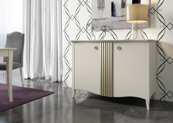 Lacquered sideboard. Mod. NP102