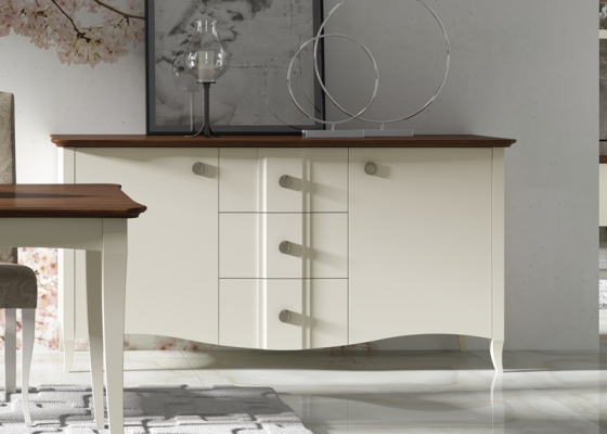 Lacquered sideboard. Mod. NP103