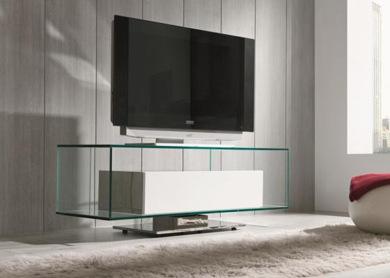 Glass TV . Mod. COLUMBO