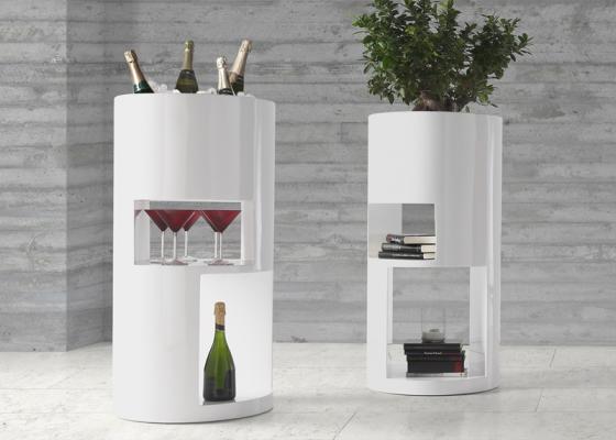 Pedestal column, mod: BAAL