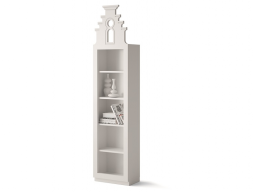 Bookshelf with 5 hollow spaces. Mod. AMSTERDAM 2