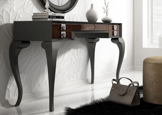 Vanity table with drawers. Mod. LAURA