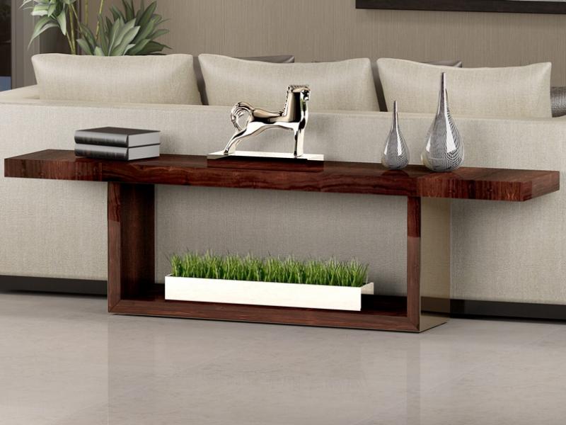 Console behind the sofa, mod: NAMUR