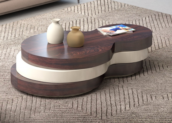Low coffee table. Mod. DIJON