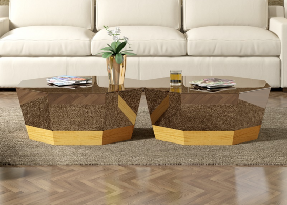 Low coffee table. Mod. GAND