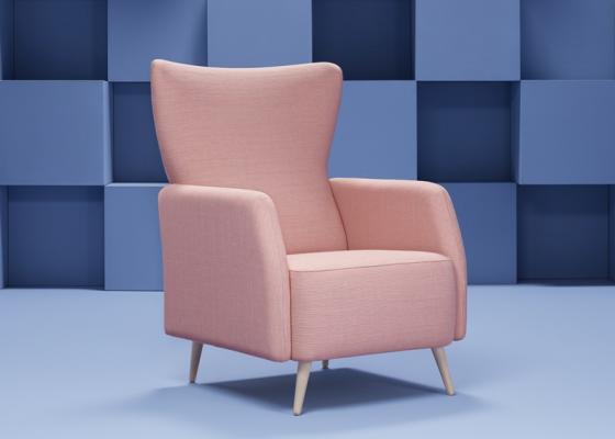 Armchair. Mod. ALICE