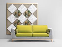 3 seater sofa. Mod. GATSBY 3PL