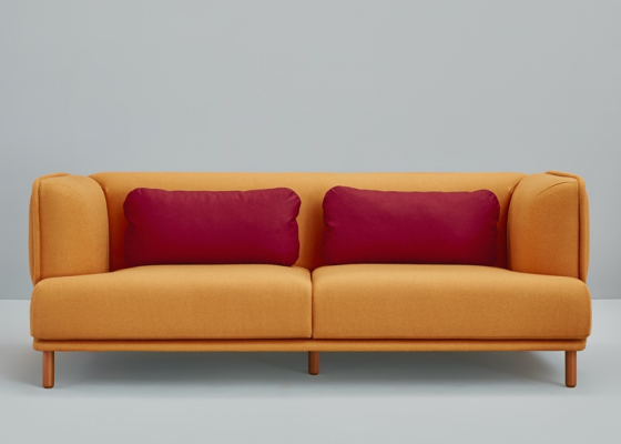2 seater sofa. Mod. HUG 2PL