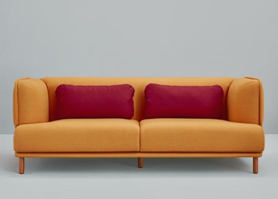 3,5 seater sofa. Mod. HUG 3PL MAXI