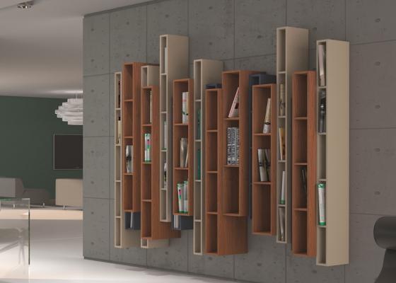 Bookshelf. Mod. OPORTO