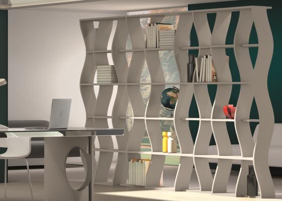 Bookcase, mod: ESEN