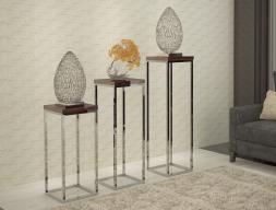Pedestal column, mod: INOX
